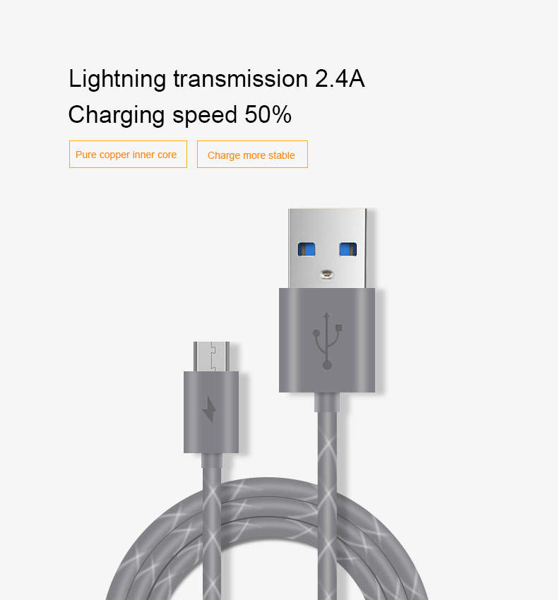MEIYI M13 1M/2M Micro USB Cable Data Sync Charging Cable Cord Charger Cable for Samsung S3 S4 Android Phones Tablet Power Bank