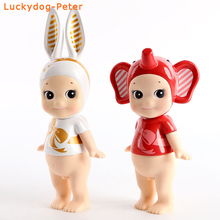 Sonny Angel Birthday Ribbon 2pcs/set Action Figures 1/10 scale painted figure Sonny Angel Artist Collection Doll PVC figure