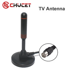 Chycet Indoor Gain 29dBi Digital DVB-T FM Freeview Aerial Antenna For TV HDTV with UHF VHF Dual Antenna Receiver Top Quality(China)