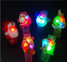 Christmas gifts glow bracelets Flash snowman watches Creative gifts toys for children