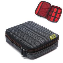 New Qualified Storage bag Travel Organizer Storage Collection Bag Case Pouch Digital Gadget Cable Adapter dig635