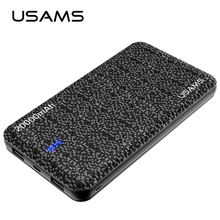 Buy USAMS Universal 20000mAh power bank Portable Battery Mobile PowerBank USB Charger Xiaomi power bank Samsung for $27.38 in AliExpress store