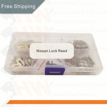 free shipping  200PCS Auto Lock Core Key Repair Accessories Car Lock Reed Lock Plate For  Nissan NSN14