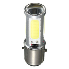 BA20D H6 E301 Special Offer COB LED Motor Bike/Moped/ATV Headlight Headlamp Bulb Fog Light DRL 10W White 6500K DC12V