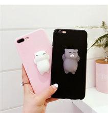 Cute cat Squishy phone case for VIVO V5plus Y55 V3 V3max V5 Y67 Y66 V5S Y53  Y69 V7plus Y79 Y71 Y83 V9 Y85 Y75 V7 f33aca7e5f8a