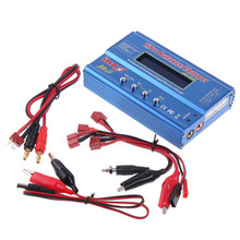iMAX B6 Digital LCD Screen RC Lipo NiMH Battery Balance Charger With T Plug Connetor Cable For RC Quadcopter(China)