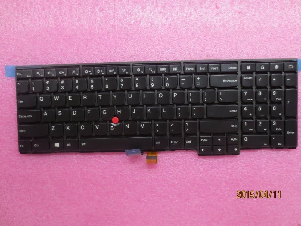 New Original for  Lenovo Thinkpad T540P W540 W541 T550 W550S Keyboard Backlit US English 04Y2387 04Y2465 0C45030<br><br>Aliexpress