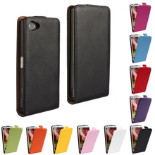 Buy Case Sony Xperia Z5 Compact Cover Vertical Flip Leather Shell Pouch Mobile Phone Bag Coque Etui Sony Z5 Compact Capinha for $3.47 in AliExpress store