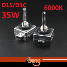 Promation! 1 Pair 35W D1/D1S/D1C 6000K Cool White HID Headlight Replacement HID Xenon Bulb Fog Lamp CE Productions