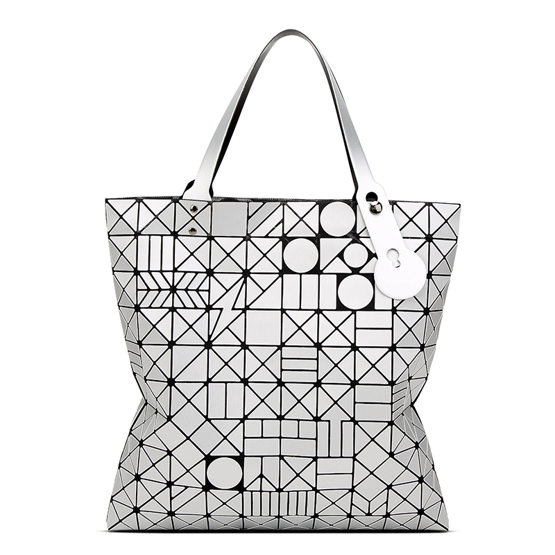 Fashion women  BaoBao bag geometric winter  new large capacity Japanese variety folding portable shoulder bags handbags  <br><br>Aliexpress