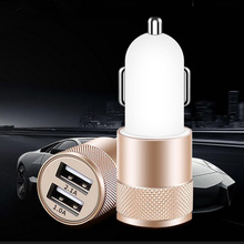 Dual USB 2A Car Charger USB Universal Travel Mobile Phone charger Adapter Fast Charging for iPhone Samsung Xiaomi Car-charger