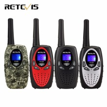 10pcs 4 color RETEVIS RT628 Kids Radio Walkie Talkie Kids 0.5W UHF Frequency Portable Ham Radio Hf Transceiver A1026