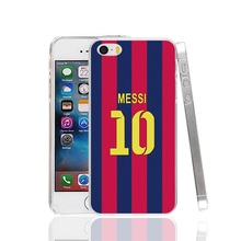 23331 messi jersey  10 football Cover cell phone Case for iPhone 4 4S 5 5S SE 5C 6 6S 7 Plus