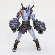 "7"" 18CM NECA God of War 3 Ghost of Sparta Ultimate Kratos PVC Action Figure Collectible Model Toy"