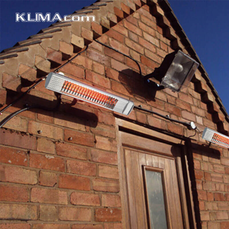 Klimacom 2000w Wall Bracketed Patio Heater Ip 65 China Manufacturer Electric Infrared Halogen Mounted In Heaters From Home