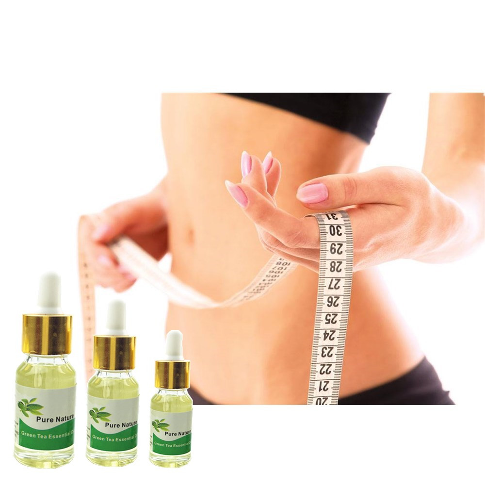 2018 Newest Fat burning Essential oil Green Tea Slimming body cream weight loss essential oils 5/10/15ml/Bottle