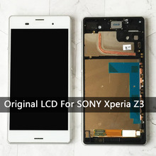 "Buy 5.2""Replacement Sony Xperia Z3 lcd L55t D6603 D6653 Original Touch Screen Display Digitizer Assembly Sony z3 lcd AAA for $20.93 in AliExpress store"