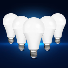 Smernit LED Bulb E27 AC85-265V 3W 5W 7W 9W 12W 15W 18W Lampada Brightness Lamps LED Light Lighting White Warm Light(China)