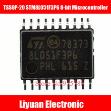 5pcs TSSOP-20 STM8L051F3P6 8-bit Microcontroller / STM8L051F3P6 Ultra-Low Power IC