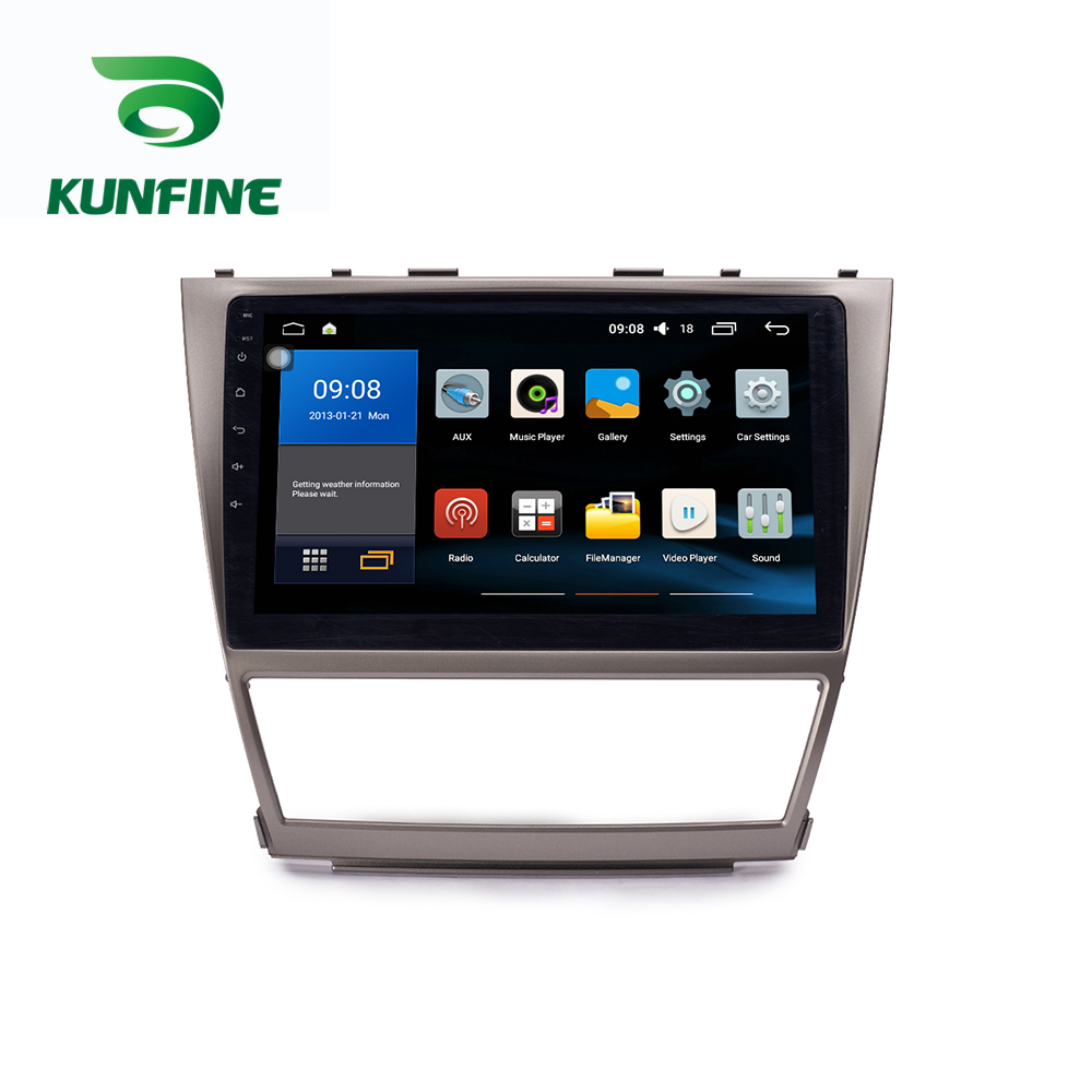 Android Car DVD GPS Navigation Multimedia Player Car Stereo For Toyota Camry 2007-2011 Radio Head unit (8)