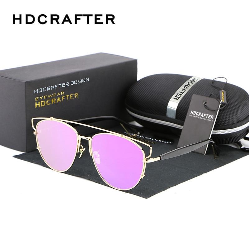 2017 Newest Brand Designer Cat Eye polarized Sunglasses Women Twin-Beams Stylish Lady Flat Plane New UV400 Fashion Sun Glasses<br><br>Aliexpress