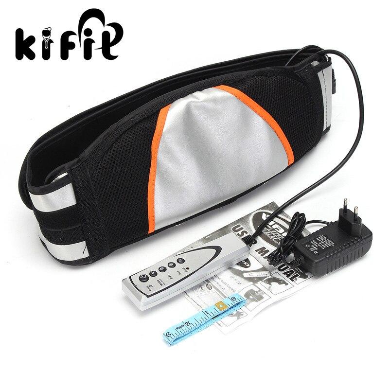 KIFIT Vibro Shape Slimming Massage Belt Machine Heat Function Fat Burning Weight Loss Health Care Tools<br>