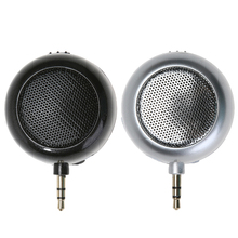 New Super Mini 3.5mm Audio Speaker ABS Rechargeable Upright Type General DC 5V 2W USB2.0 Speakers for Mobile phone, tablet, MP3