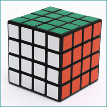 Wholesale 10 pc/set 4*4*4 Magic Cube Puzzle Toy Toys For Children Kids Gift Toy Classic Girl Boy Younth Adult Instruction(China)