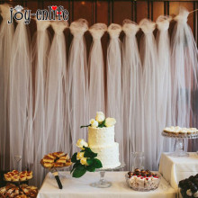 joy-enlife Tulle Bulk Bolt 100 yard Wedding Tulle Wedding decoration Outdoor Wedding Ceremony Decor photography props(China)