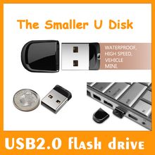 Hot!! 8GB 16GB 32GB 64GB Waterproof Super Mini Tiny USB Flash Drive USB Pen Drive Memory Stick U Disk Disc Pendrive