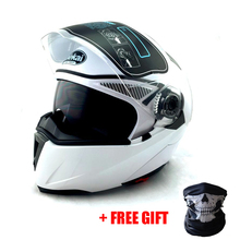 NEW ARRIVE DOT ECE sticker JIEKAI 105 Flip Up Motorcycle helmet motocicleta casco Helmets motocross racing helmet M L XL XXL