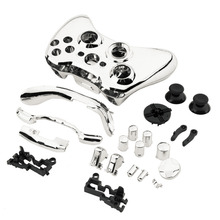 Silver Full Case Cover Protect Shell Skin Button Set For Xbox 360 Wireless Controller In Stock!!Best Selling and Newest In 2017!