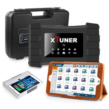 XTUNER T1 Heavy Duty Trucks Auto Diagnostic Tool Diesel Engine Support ABS Fule Injector DPF EGR Turbo DPF Reset With Tablet(Hong Kong)