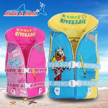 Divedive & sail sponge jacket swim lifesaving life jacket for children of 2 to 9 years old.  ST-706