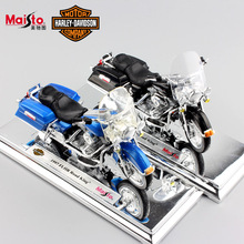 1:18 Scale Children Harley 1997 1999 FLHR Road King Diecast metal model motorcycle Cruiser vehicles motorbike toys for kids 2017