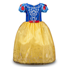 Girls Dresses Cinderella dress Children Snow White Cosplay Party Princess Costume,Christmas Girls Clothes for New Year
