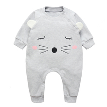 Baby Thick Rompers Boys Girls Long Jumpsuit Cotton Overall Clothing Autumn/Winter Warm Newborn Ropa Infant Cute OnePiece Clothes