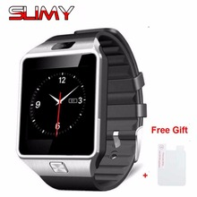 2017 Hot Original DZ09 Bluetooth Smart Watch for Android Phone Support SMI/TF Men Women Smartwatch Sport Wristwatch in Stock