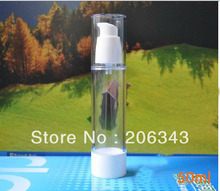 50ml airless pump bottle or lotion bottle or essence bottle  with bird mouth shape pump can used for Cosmetic Container