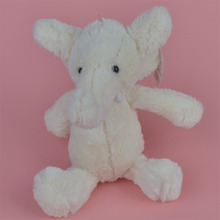 27-60cm White Color Elephant Stuffed Plush Toy for Cute Baby/ Kids Gift, Plush Doll Free Shipping