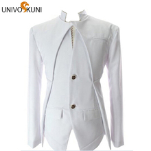 UNIVOS KUNI Men's Blazer Fashion Dress Suits Men Blazers Slim Casual Jacket Autumn White Wedding Blazers Men Asian  M-XXL THY126