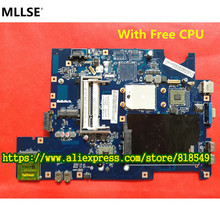 Original LA-5972P REV : 1.0 Laptop Motherboard Suitable For Lenovo G555 Notebook PC, with free processor !(China)