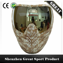 Comfortable Paintball Mask or Airsoft Mask with Colorful DYE I4 Double Lens Goggle Made in China(China)