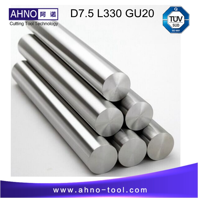 D7.5mm  +0.3~0.6mm; L=330; 3pcs/lot Unground Rods Tungsten Carbide Rod GU20 without coolant holes FREE shipping<br>