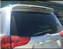 Osmrk unpainted ABS tail wing rear spoiler roof visor for Mitsubishi pajero sport, with light or without light(China)