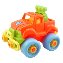 Pop Christmas Gift Kids Child Baby Boy Plastic Disassembly Assembly Classic Car Toy Random Color #LD789
