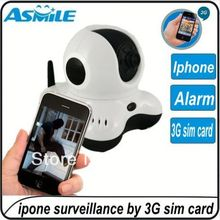 Home security 3g security camera with sim card