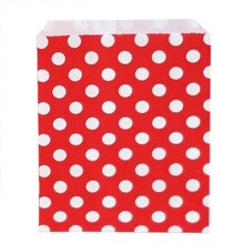 50pcs/Lot Polka Dot Paper Bag Christmas Wedding Decoration Table Party Decoration Wedding Favors And Gifts