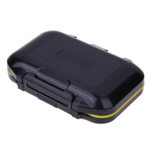 Fishing Box Accessories Waterproof Eco-Friendly Fishing Lure Bait Tackle Waterproof Storage Box Case With 12 Compartments EA14