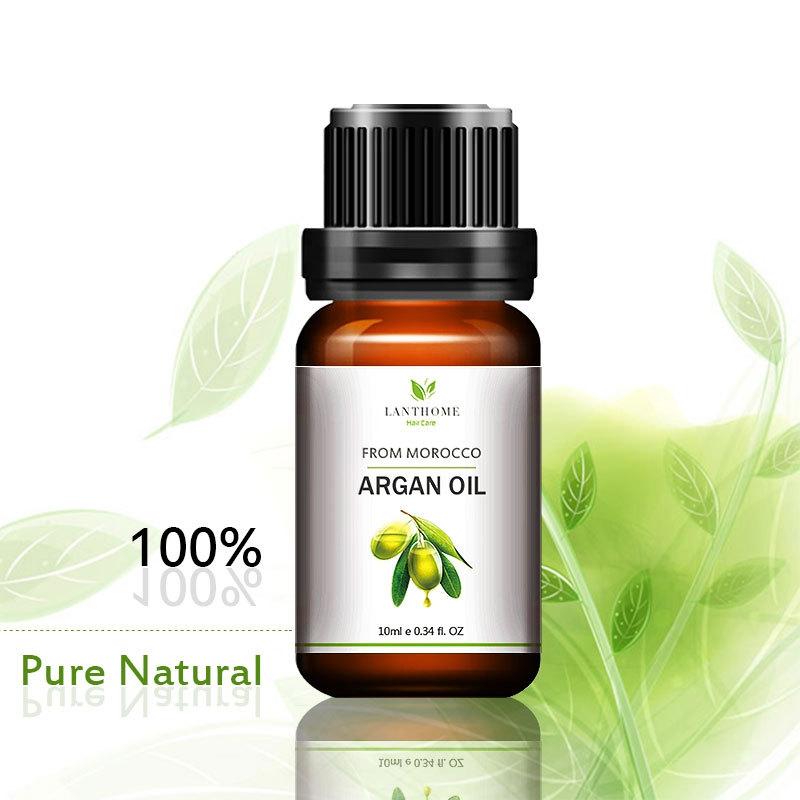 Genuine Morocco Argan Oil Hair Care Keratin 100% PURE Glycerol Nut Oil Hair Oil Mask Essential Coconut Oil Cuticle 10ml 3